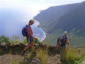 Hiking in El Hierro, Spain