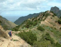 Walking in La Gomera Spain