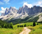Walking holidays in Italy - Val di Fassa - Trek - Click Here For Full Details