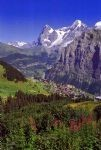 Walking holidays in Switzerland -  Mürren - Click Here For Full Details